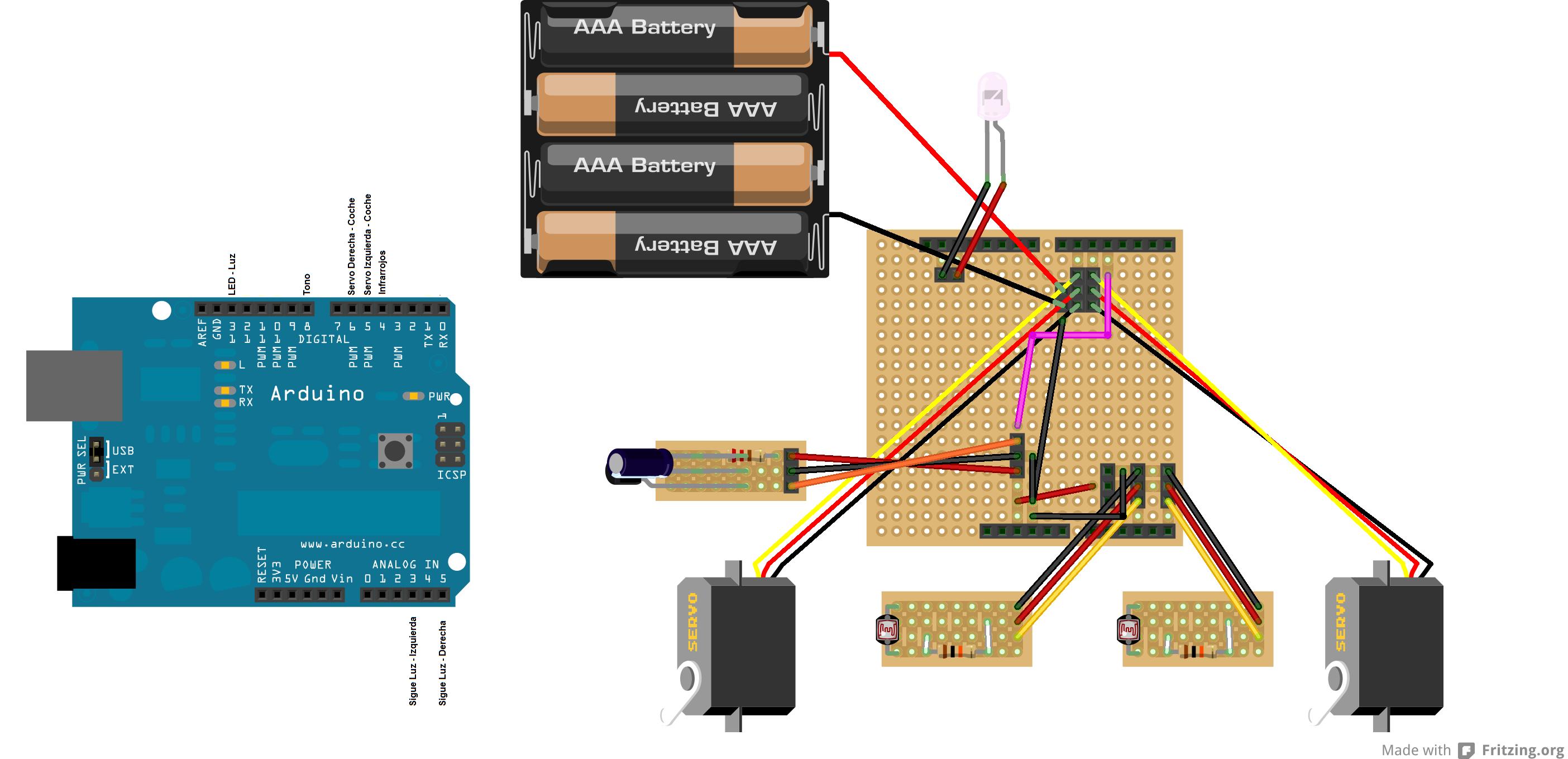 Arduino - RobotLineFollowConfig